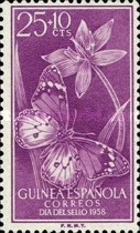 [Stamp Day - Butterflies, African Monarch, Typ CR]