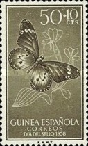 [Stamp Day - Butterflies, African Monarch, Typ CS]