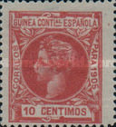 [Issue of 1903 - Blue Control Number on Back Side, Typ D5]