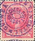[Issue of 1906 Overprinted in Violet, Typ E]