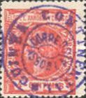 [Issue of 1906 Overprinted in Violet, Typ E3]