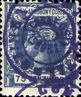 [Issue of 1906 Overprinted in Violet, Typ E9]