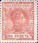 [King Alfonso XIII - Blue Control Number on Back Side, Typ F10]