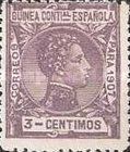 [King Alfonso XIII - Blue Control Number on Back Side, Typ F2]