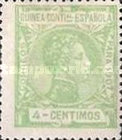 [King Alfonso XIII - Blue Control Number on Back Side, Typ F3]