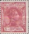 [King Alfonso XIII - Blue Control Number on Back Side, Typ F4]