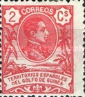 [King Alfonso XIII - Blue Control Number on Back Side, Typ I1]
