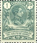 [King Alfonso XIII - Blue Control Number on Back Side, Typ I10]