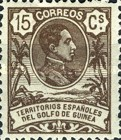 [King Alfonso XIII - Blue Control Number on Back Side, Typ I4]