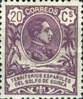 [King Alfonso XIII - Blue Control Number on Back Side, Typ I5]