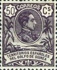[King Alfonso XIII - Blue Control Number on Back Side, Typ I9]