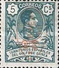 [King Alfonso XIII Stamps of 1909 Overprinted