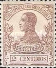 [King Alfonso XIII - Blue Control Number on Back Side, Typ L1]