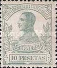 [King Alfonso XIII - Blue Control Number on Back Side, Typ L12]