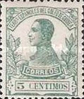 [King Alfonso XIII - Blue Control Number on Back Side, Typ L2]