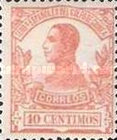 [King Alfonso XIII - Blue Control Number on Back Side, Typ L3]
