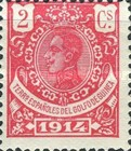 [King Alfonso XIII - Blue Control Number on Back Side, Typ M1]