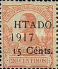 [King Alfonso XIII Stamps of 1917 Overprinted & Surcharged, Typ O2]