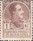[King Alfonso XIII - Blue Control Number on Back Side, Typ P]