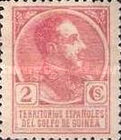 [King Alfonso XIII - Blue Control Number on Back Side, Typ P1]