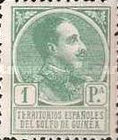[King Alfonso XIII - Blue Control Number on Back Side, Typ P10]