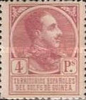 [King Alfonso XIII - Blue Control Number on Back Side, Typ P11]