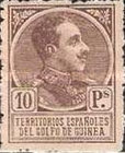 [King Alfonso XIII - Blue Control Number on Back Side, Typ P12]