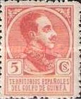 [King Alfonso XIII - Blue Control Number on Back Side, Typ P2]
