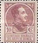 [King Alfonso XIII - Blue Control Number on Back Side, Typ P3]