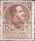 [King Alfonso XIII - Blue Control Number on Back Side, Typ P4]