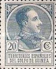 [King Alfonso XIII - Blue Control Number on Back Side, Typ P5]