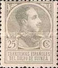 [King Alfonso XIII - Blue Control Number on Back Side, Typ P6]