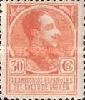 [King Alfonso XIII - Blue Control Number on Back Side, Typ P7]