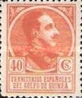 [King Alfonso XIII - Blue Control Number on Back Side, Typ P8]