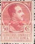 [King Alfonso XIII - Blue Control Number on Back Side, Typ P9]
