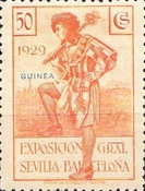 [International Exhibition,Seville and Barcelona - Spanish 1929 Issue Overprinted