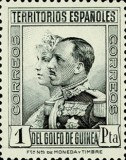 [King Alfonso XIII and Queen Victoria, type X1]