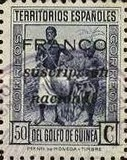 [Spanish Guinea Postage Stamps of 1934 Overprinted