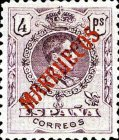 "[King Alfonso XIII - Spanish Postage Stamps Overprinted ""MARRUECOS"". See Also Spanish Post in Morocco, Typ A10]"