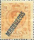 "[King Alfonso XIII - Spanish Postage Stamps Overprinted ""MARRUECOS"". See Also Spanish Post in Morocco, Typ A11]"
