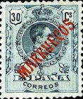 "[King Alfonso XIII - Spanish Postage Stamps Overprinted ""MARRUECOS"". See Also Spanish Post in Morocco, Typ A6]"