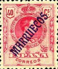 "[King Alfonso XIII - Spanish Postage Stamps Overprinted ""MARRUECOS"". See Also Spanish Post in Morocco, Typ A7]"