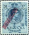 "[King Alfonso XIII - Spanish Postage Stamps Overprinted ""MARRUECOS"". See Also Spanish Post in Morocco, Typ A8]"