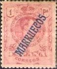 "[King Alfonso XIII - Spanish Postage Stamps Overprinted ""MARRUECOS"". See Also Spanish Post in Morocco, Typ A9]"