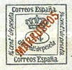 "[Newspaper Stamp - Spanish Postage Stamp Overprinted ""MARRUECOS"", type B]"