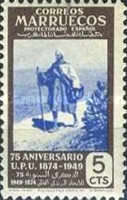 [The 75th Anniversary of the Universal Postal Untion, type ET]