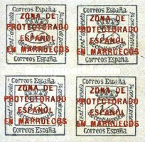 [Newspaper Stamps - Spanish Postage Stamp Overprinted