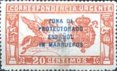 [Special Delivery - Spanish Postage Stamps Overprinted, Typ O]
