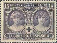 """[Red Cross - Not issued Spanish Stamps Overprinted """"ZONA PROTECTORADO ESPANOL"""", type P1]"""