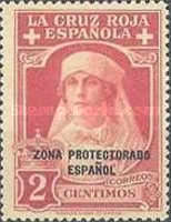 "[Red Cross - Not issued Spanish Stamps Overprinted ""ZONA PROTECTORADO ESPANOL"", Typ Q]"